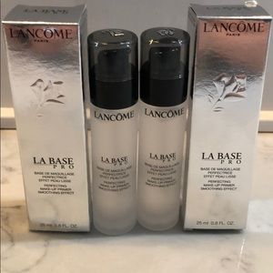 Lancôme la base pro lot of 2 new Authentic
